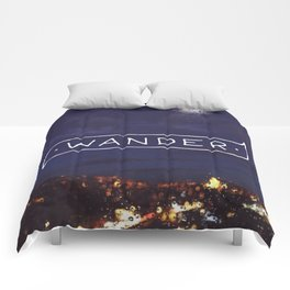 Not all those who wander are lost // #TravelSeries Comforters