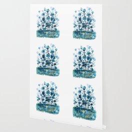 Floral Charm No.1L by Kathy Morton Stanion Wallpaper