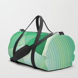36 Green tones Duffle Bag