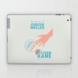 Citizen Kane, minimal movie poster, Orson Welles film, hollywood masterpiece, classic cinema Laptop & iPad Skin