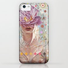 A flower in my garden iPhone 5c Slim Case