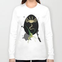 easter Long Sleeve T-shirts featuring Easter egg by D.N.A.