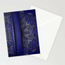 Silver ornament decoration Stationery Cards