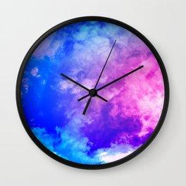 Color Foam III Wall Clock