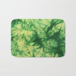 Tie Dye- Green and Yellow Bath Mat