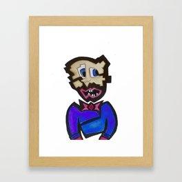 Shatter Face. Shatter Face? Shatter Face! Framed Art Print