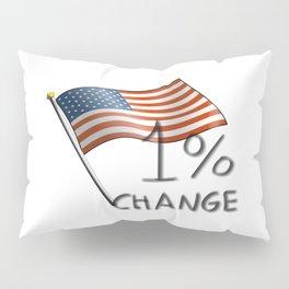 One Percent Change Pillow Sham