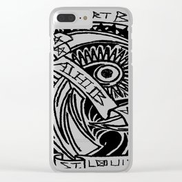 Yah! Yah! Clear iPhone Case