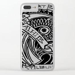 Yah! Yah! Clear iPhone Case