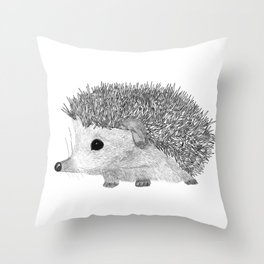 BABY HEDGEHOG Throw Pillow