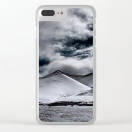 Deadly Mountains Clear iPhone Case
