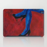 legs iPad Cases featuring Legs by Sian Blackman