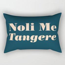 Noli Me Tangere - Touch Me Not Rectangular Pillow