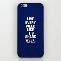 30 rock iPhone & iPod Skins featuring 30 Rock - Tracy Jordan by lissalaine