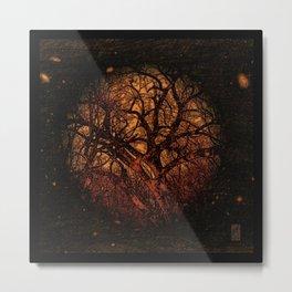 Arbor Mundi - Tree Cosmos Metal Print