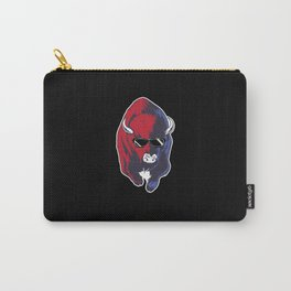 Bison Funny Carry-All Pouch