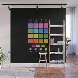 Dj Electronic Music Wall Mural