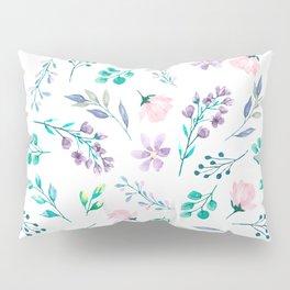 Watercolor floral pattern Pillow Sham
