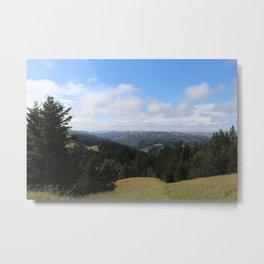 View on Mount Tamalpais Metal Print