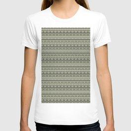 Grey , brown , ethnic 1 T-shirt