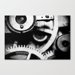 Toothed Wheels Canvas Print