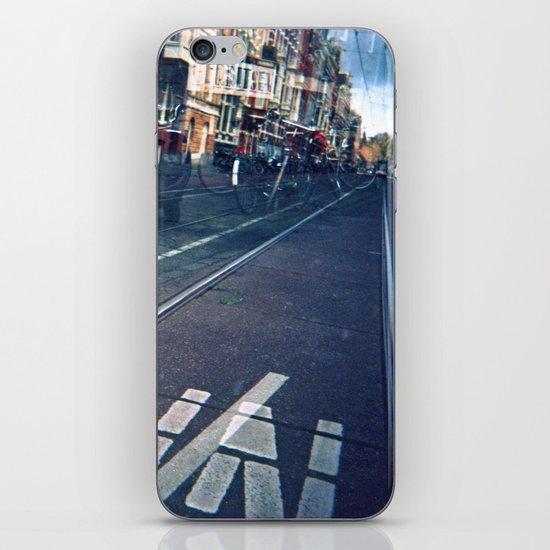 Amsterdam Double Exposure iPhone & iPod Skin