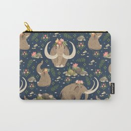 Cute mammoths Carry-All Pouch