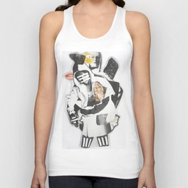 Line Collage Unisex Tank Top