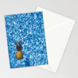 Fresh Pineapple Stationery Cards
