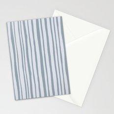 Into the Woods grey Stripes Stationery Cards