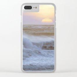 Pacific Ocean Seascape #71 by Murray Bolesta Clear iPhone Case