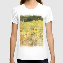 Field of Sunflowers T-shirt