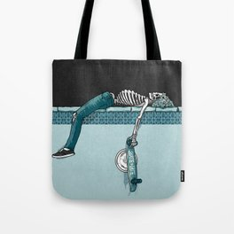 Skate 'til Late Tote Bag