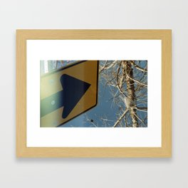 Going Nowhere Framed Art Print
