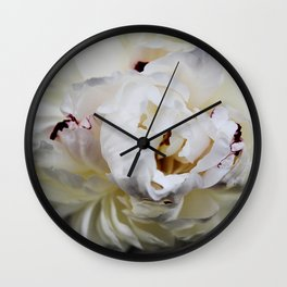 Adelaide Peony Wall Clock