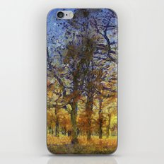Greenwich Park London Art iPhone & iPod Skin