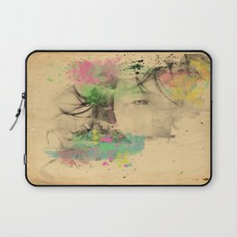 I Love the Way You Smile Laptop Sleeve