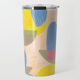 Geometric Deco Pattern Travel Mug