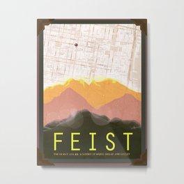 Feist  Metal Print