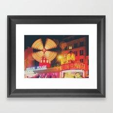 a Parisian icon ... Framed Art Print