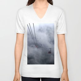 Direct access to outer space? Unisex V-Neck