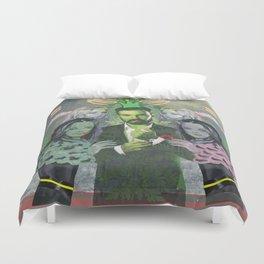Green man Duvet Cover