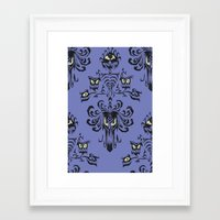 haunted mansion Framed Art Prints featuring Phantom Manor - Haunted Mansion by Katikut