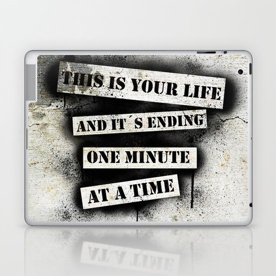 This is your life Laptop & iPad Skin