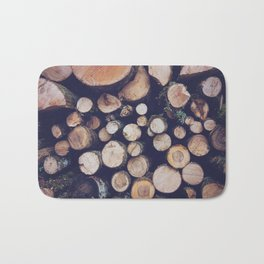 firewood no. 1 Bath Mat