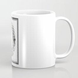 Zentangle D Monogram Alphabet Illustration Coffee Mug