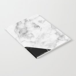 Marble & Gold Collage Notebook