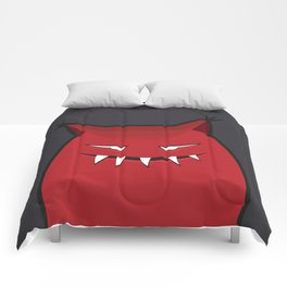 Evil Monster With Pointy Ears Comforters