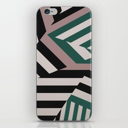 ASDIC/SONAR Dazzle Camouflage Graphic Design iPhone Skin