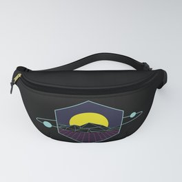 Outrun to the Sun / Spacewave / 80s Retro Fanny Pack